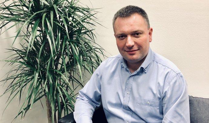 Lukáš Blažek, obchodní ředitel společnosti RONDA INVEST