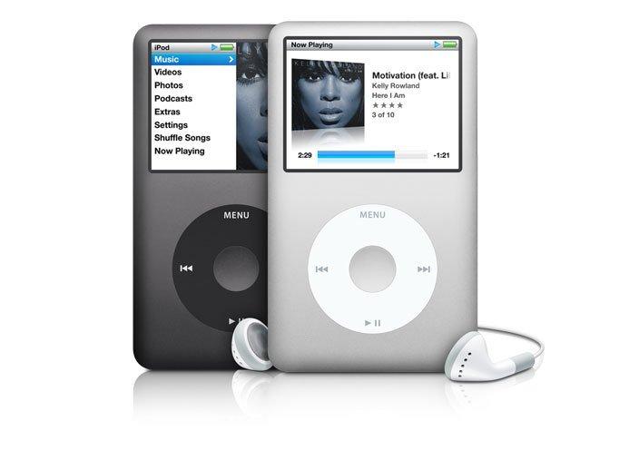 Nejnovější iPod Classic