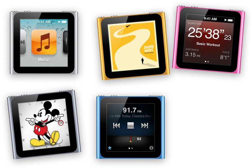 Nejnovější iPod Nano