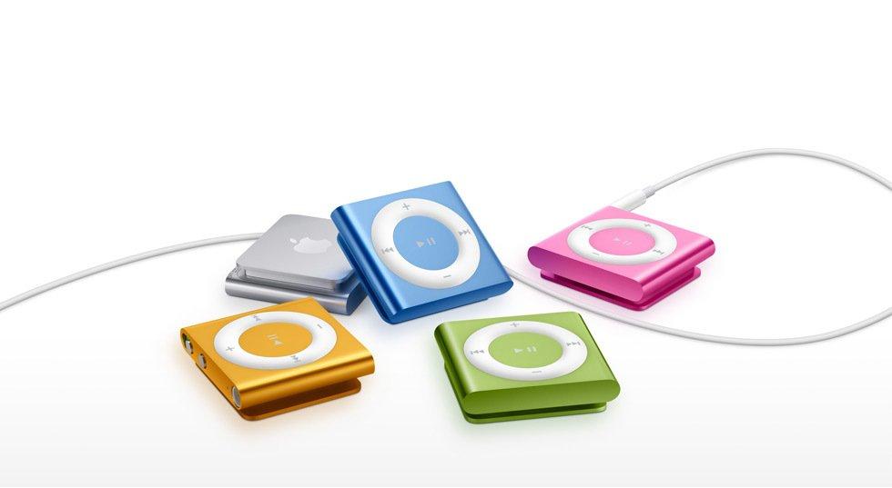 Nejnovější iPod Shuffle