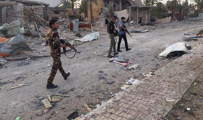 Irácké ozbrojené složky v Ramádí