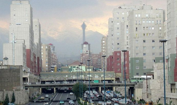 Íránská metropole Teherán