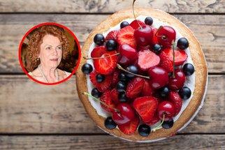 Iva Janžurová slaví 80. narozeniny! Oslavte je s ní a jejím nadýchaným dortem bez mouky