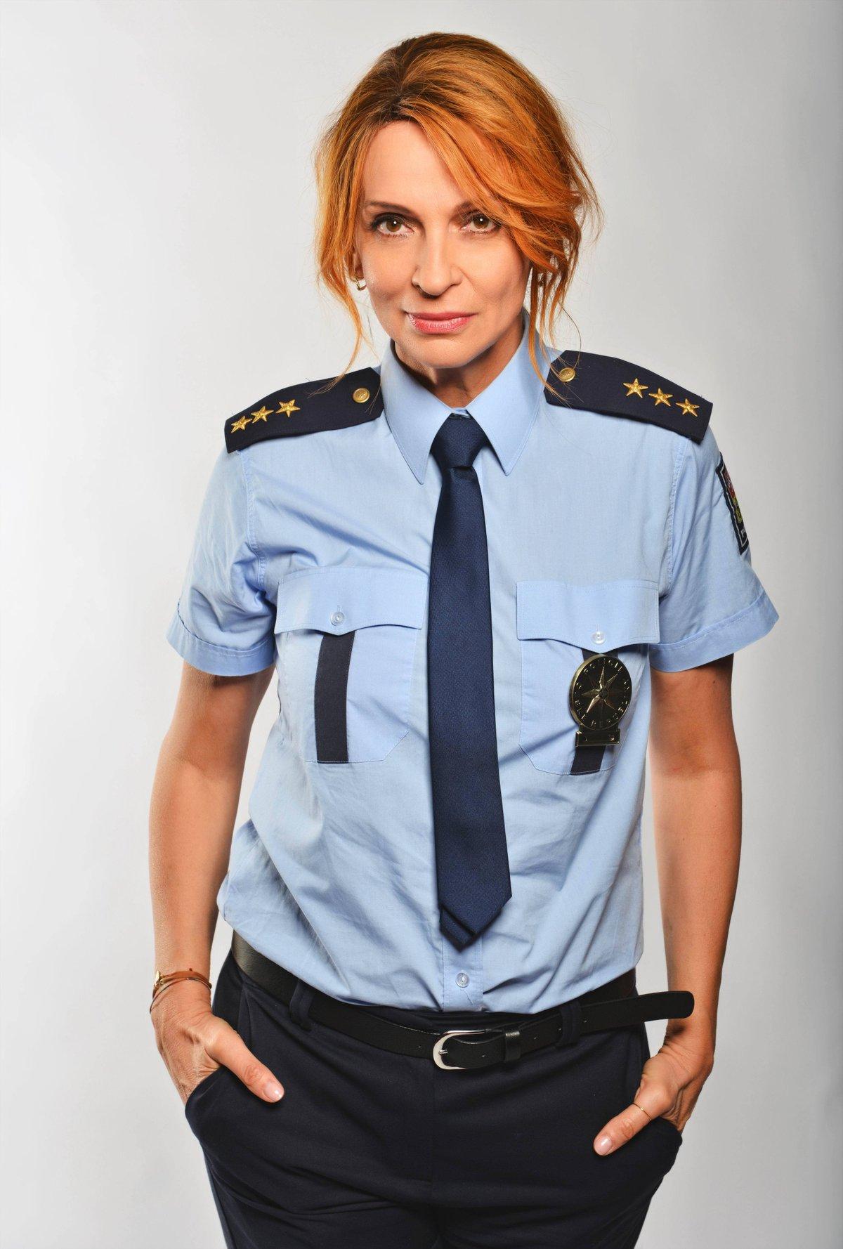 Ivana Chýlková v seriálu Linka