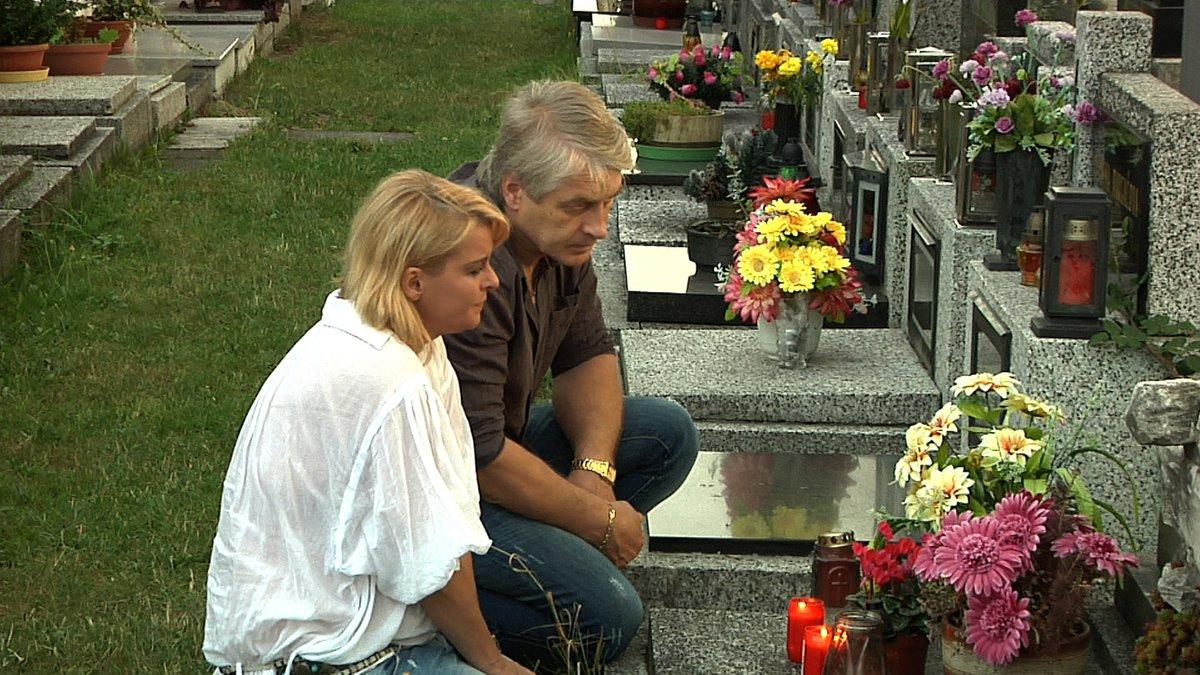 """Slib zesnulému tatínkovi - """"Tatínkovi děkuju za všechno, co mi dal, za všechno, co mě naučil. Musel hodně bojovat, ale já budu taky."""""""