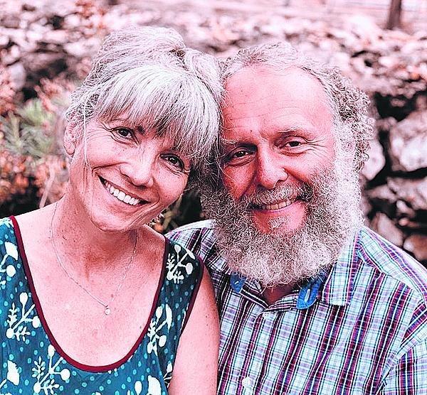 S manželem Jaroslavem Duškem.