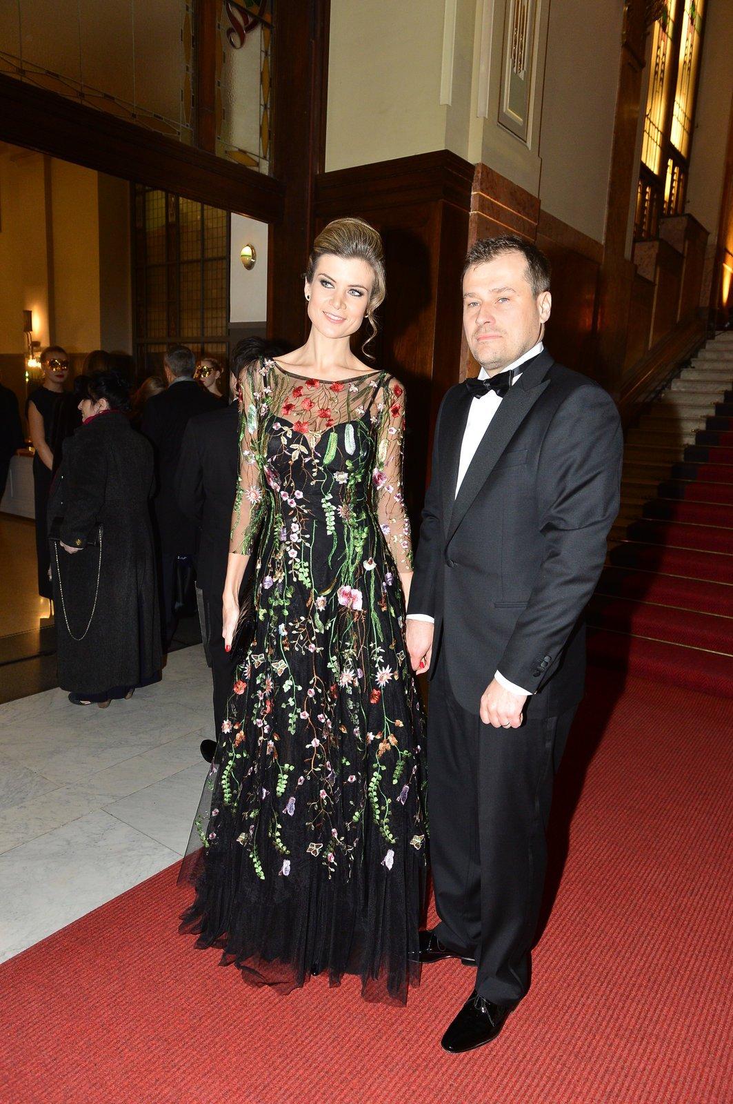 Iveta Vítová s manželem