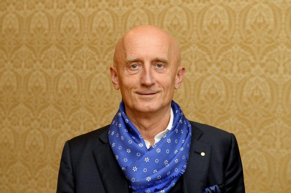 Ivo Valenta při rozhovoru pro Blesk