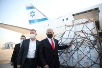Projev přátelství od Izraele: Země Česku darovala 5000 dávek vakcíny Moderna