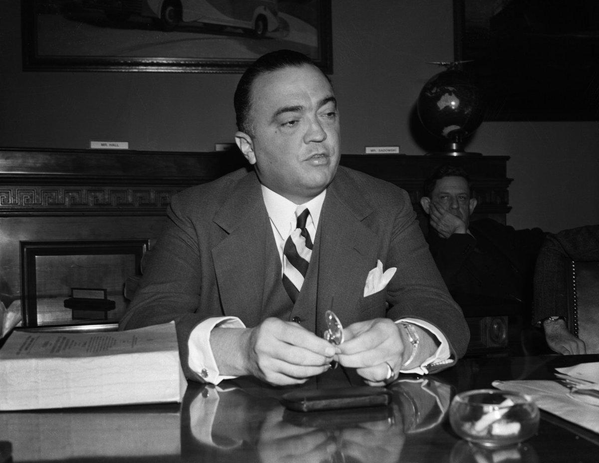 Skutečná podoba J. Edgara Hoovera.
