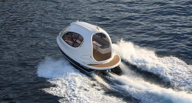 Luxusní mini jachta: Nejen pro hobity!