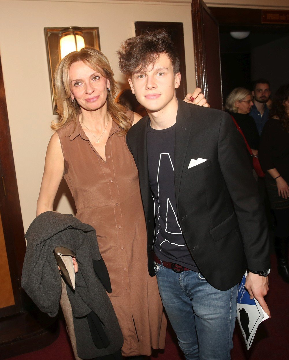 Jáchym Kraus se svou matkou Ivanou Chýlkovou