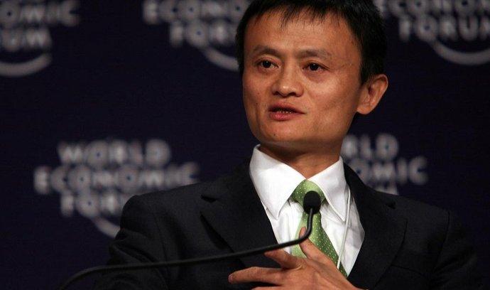 Jack Ma, šéf firmy Alibaba