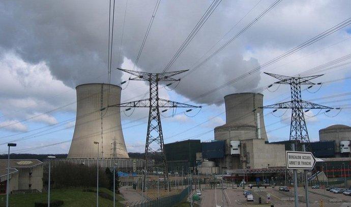Jaderná elektrárna v Cattenomu v Lorraine (Francie)