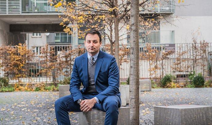 Jakub Lohniský, spolumajitel módní značky Le Premier