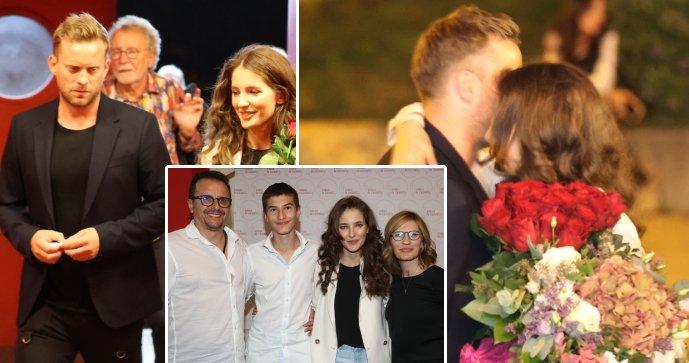 Láska Prachařovi (38) a Sandevě (24) jenom kvete: Kuba už patří do rodiny!