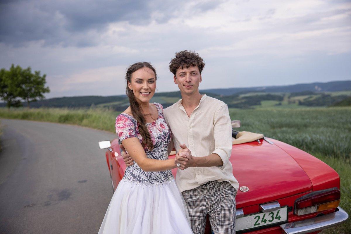 Jan Cina a Adriana Mašková ve StarDance