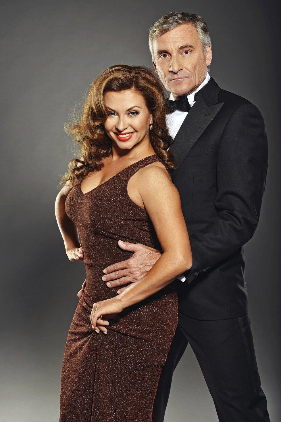 Dana Morávková nyní točí nové díly se seriálovým manželem Janem Čenským.