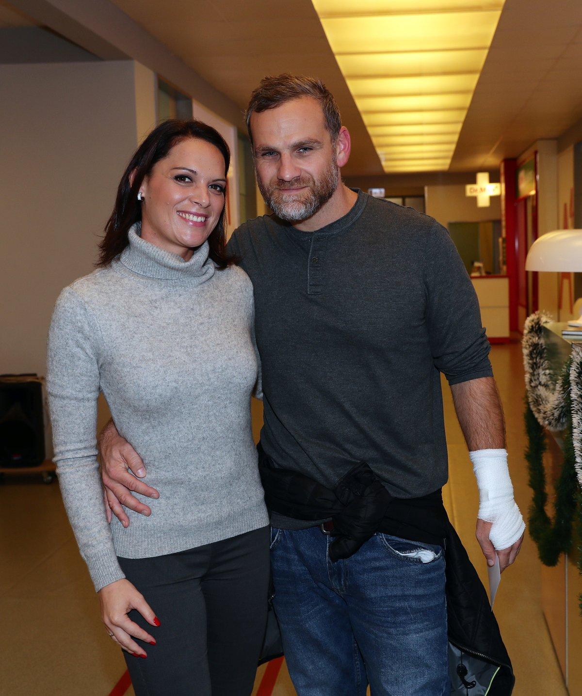 Ján Jackuliak s redaktorkou Blesku