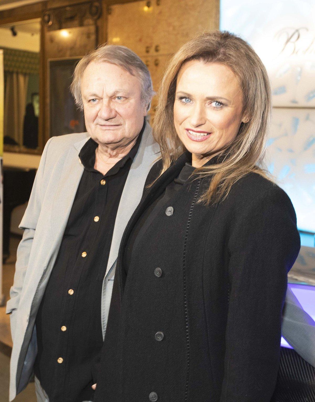 Jana Adamcová s manželem, režisérem Jiřím Adamcem