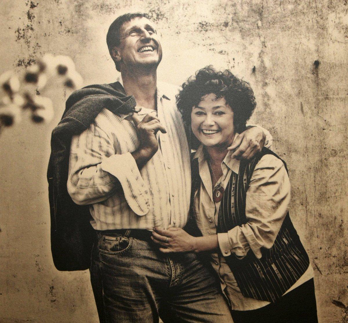 Jana Boušková s manželem Václavem Vydrou tvoří ukázkový, harmonický pár.