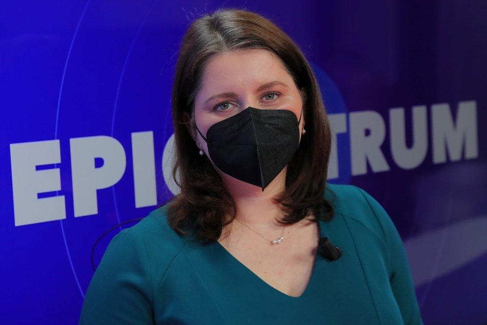 Ministryně práce a sociálních věcí a místopředsedkyně ČSSD Jana Maláčová byla hostem Blesk Zpráv v pořadu Epicentrum (9. 3. 2021)