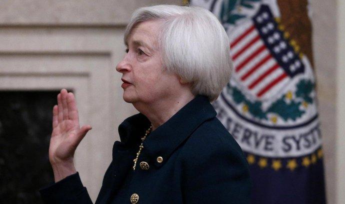 Janet Yellenová skládá přísahu