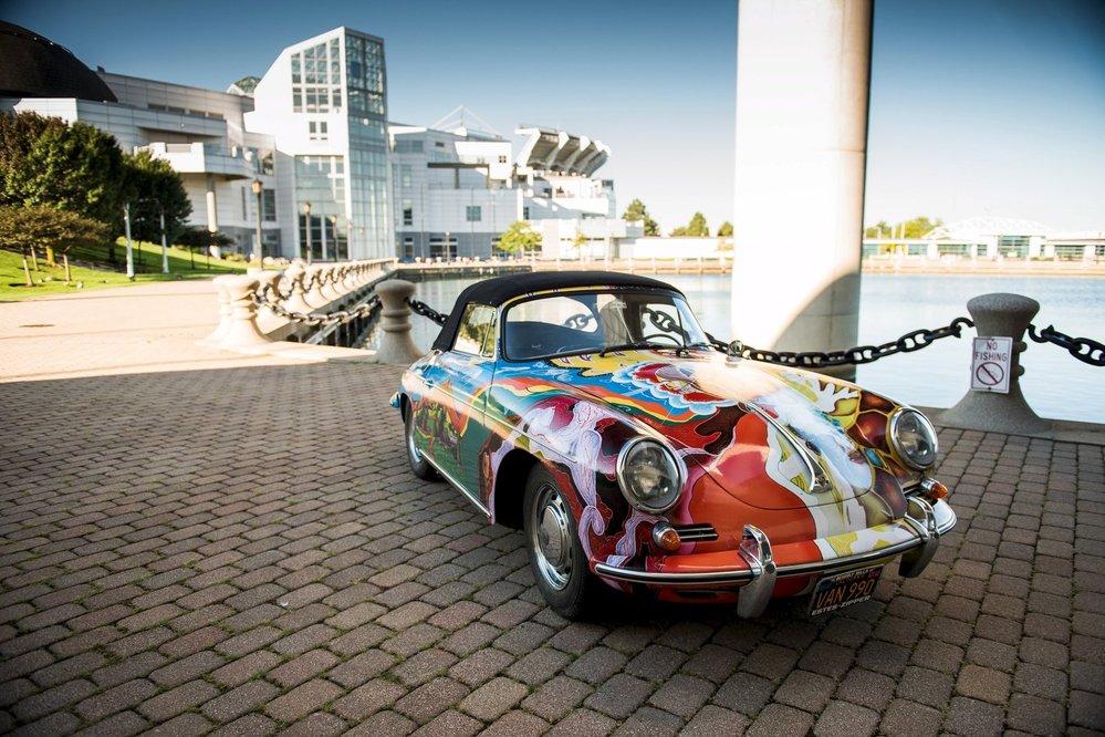 Porsche Janis Joplinové se vydražilo za rekordní 1,76 milionu USD