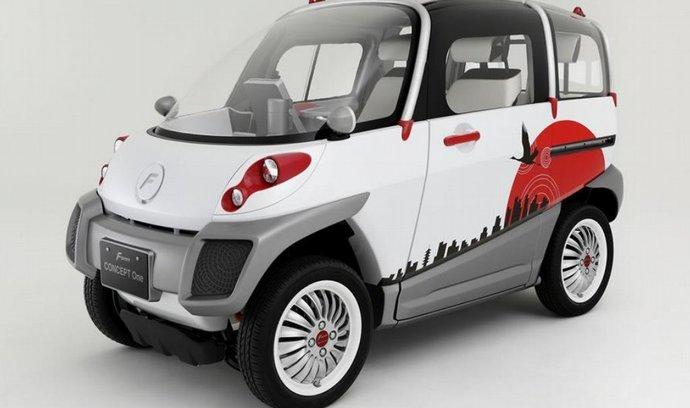 Japonská studie Fomm Concept One