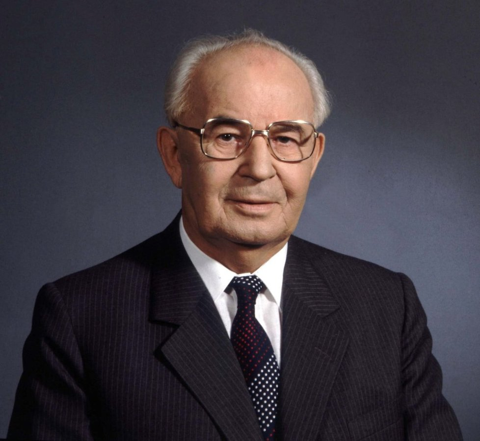 Prezident ČSSR Gustáv Husák (†78)