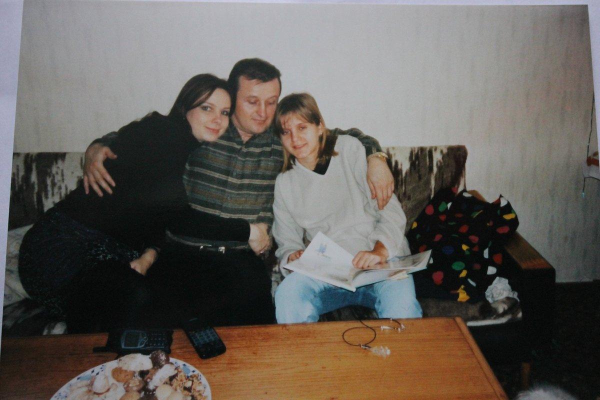 Její nová rodina. Jaroslava s Kristýnou a jejím otcem na archivním snímku.