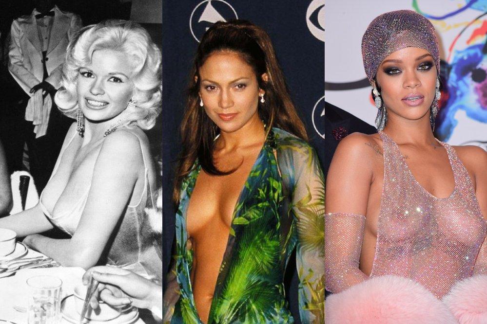 Oslavte Meziárodní den bez podprsenky s ikonickými braless momenty