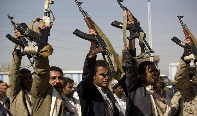 ilustrační foto, Jemen, Šíitští povstalci (z 20. ledna)