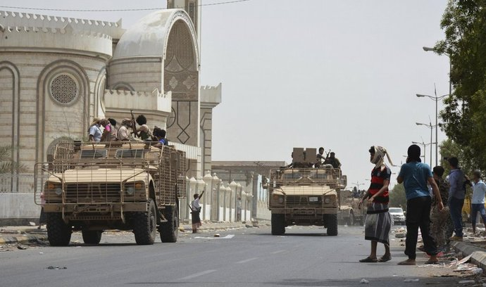 Provládní vojska v Adenu