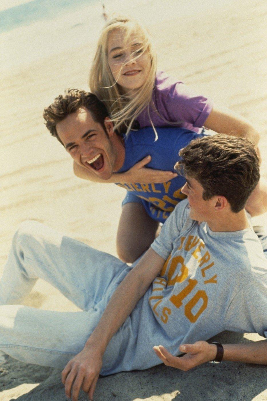Luke Perry z Beverly Hills.