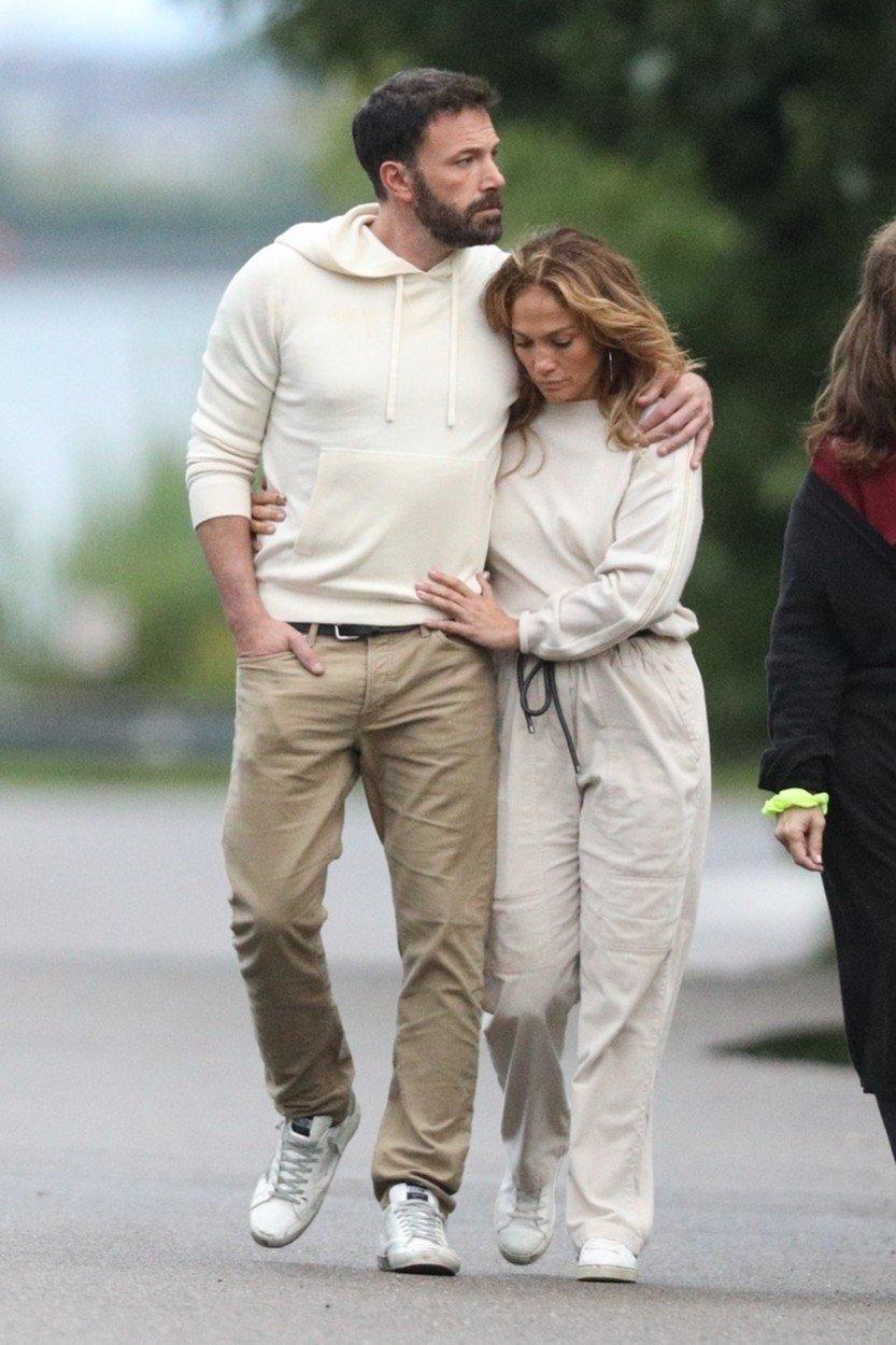 Jennifer Lopez a Ben Affleck (2021)