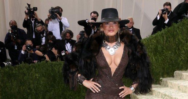 Jennifer Lopez na Met Gala 2021