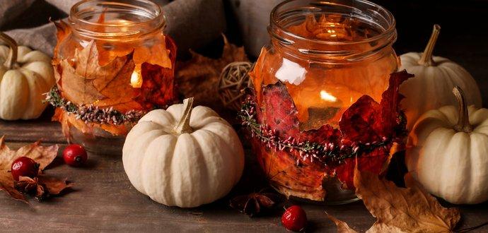 Ako využiť opadané lístie? Vytvorte si krásne jesenné dekorácie