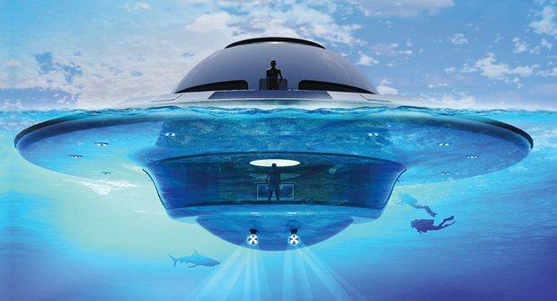 Jet Capsule: UFO přistane na hladině!
