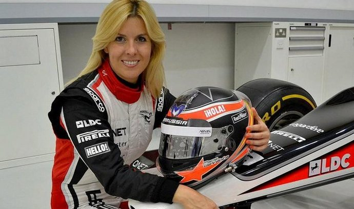 Jezdkyně Maria de Villotaová