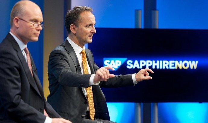 Jim Hagemann Snabe (vpravo), co-CEO SAP.
