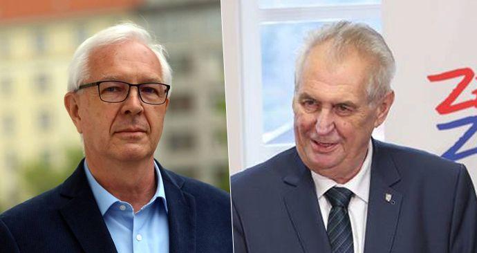 V druhém kole proti sobě budou stát Jiří Drahoš a Miloš Zeman.