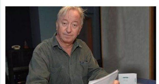 Inzerát s falešnou reklamou využívající fotku Lábuse a jméno Jágra