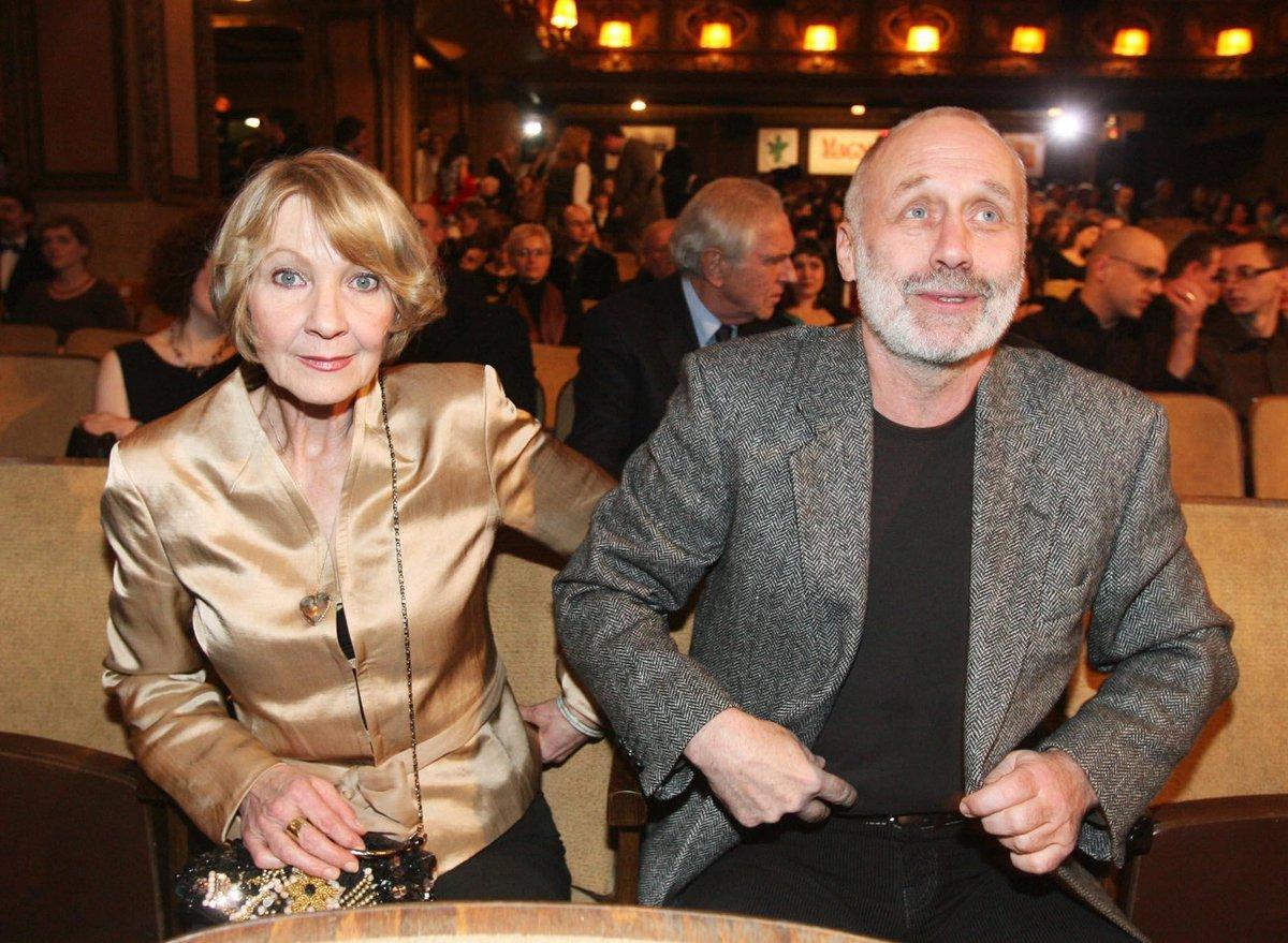 Daniela Kolářová se svým manželem.