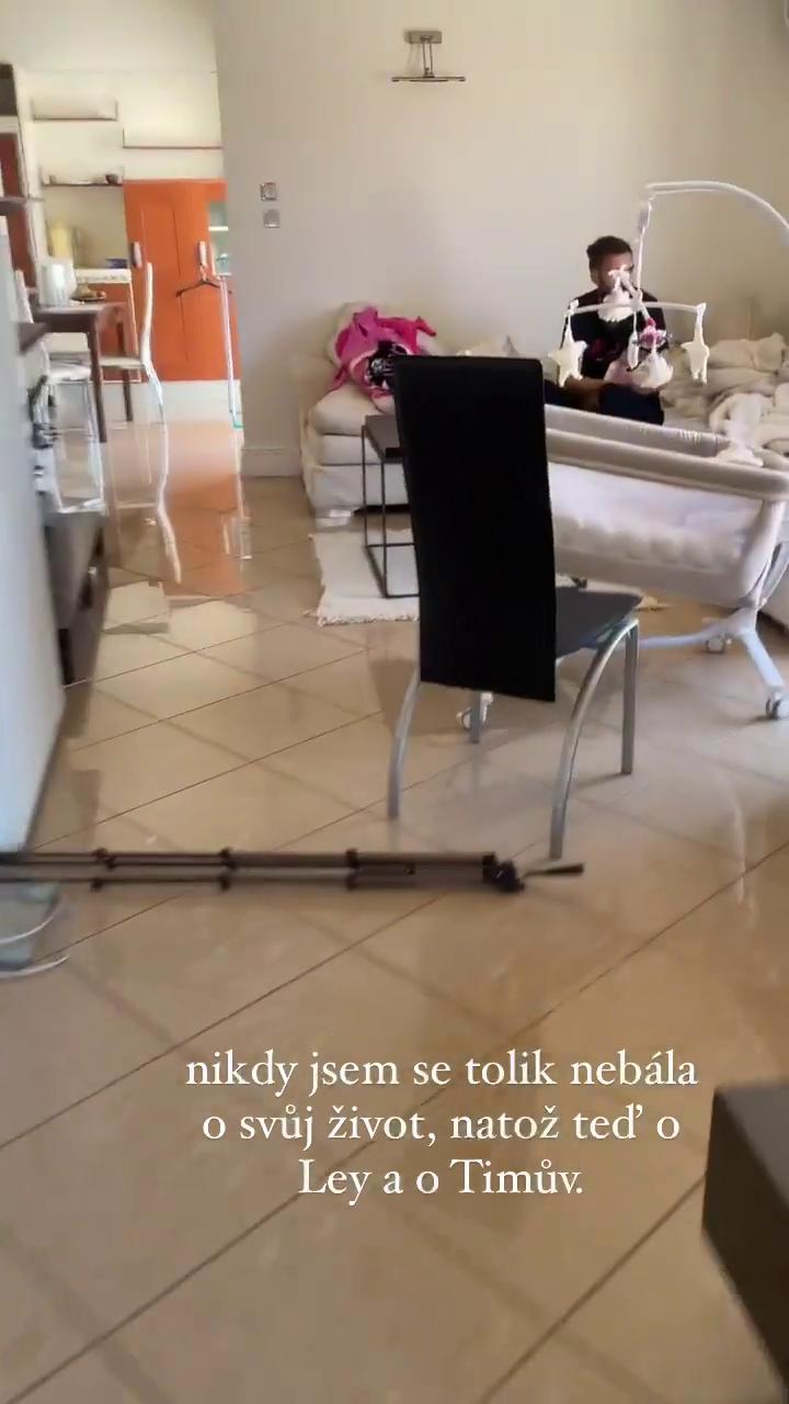 Jitka Nováčková má za sebou hrozivé zemětřesení