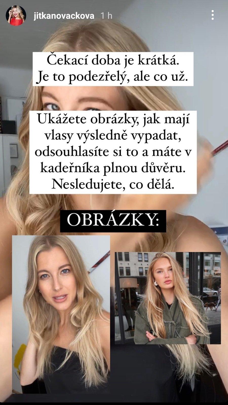 Jitka Nováčková popsala své trápení s řeckými kadeřnictvími
