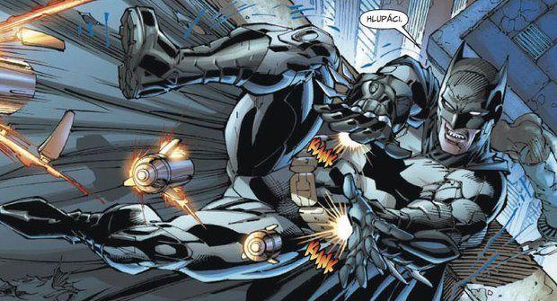 Batman, Superman a spol. musí nakopat pozadí masožravým emzákům