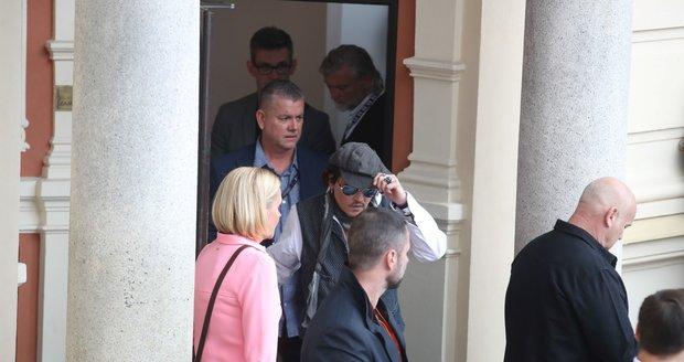 Johnny Depp v Karlových Varech