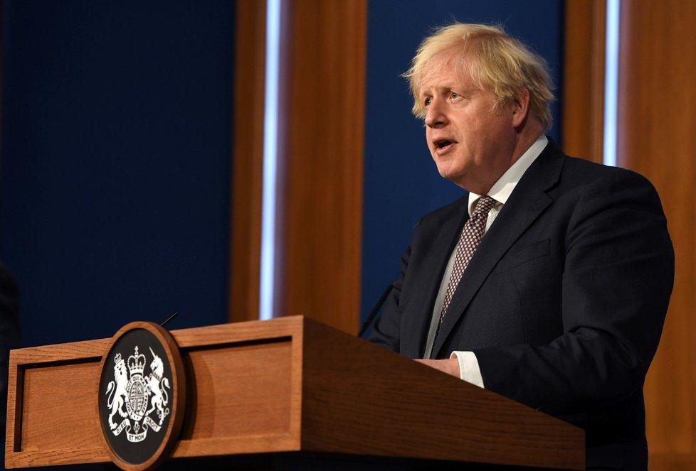 Britský premiér Boris Johnson (5. 7. 2021)
