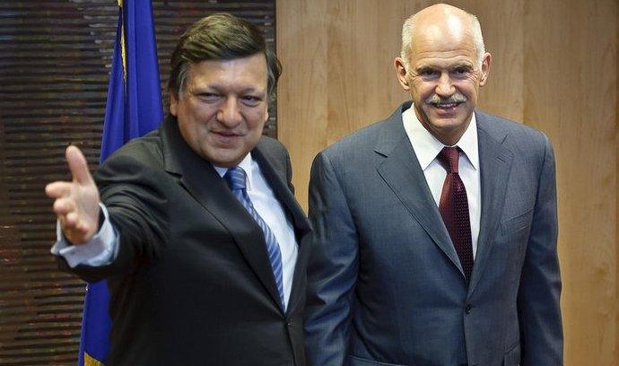 Jose Manuel Barroso, Jorgos Papandreu
